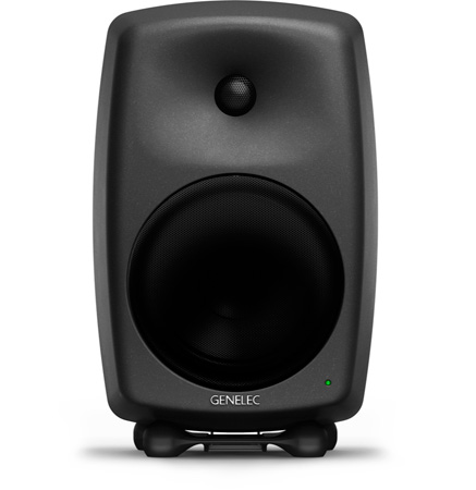 Genelec 8050BPM 8 In. Bi-Amplified Active Monitor - Producer Black Finish