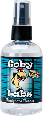 Goby Labs GLH-104 Headphone Cleaner - 4 Fluid Ounces