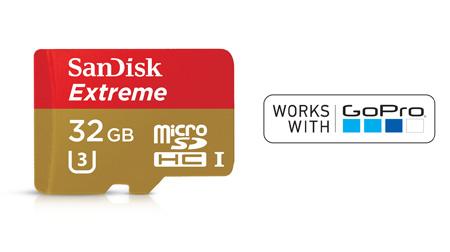 SanDisk Extreme MicroSD Card 32GB Class 10