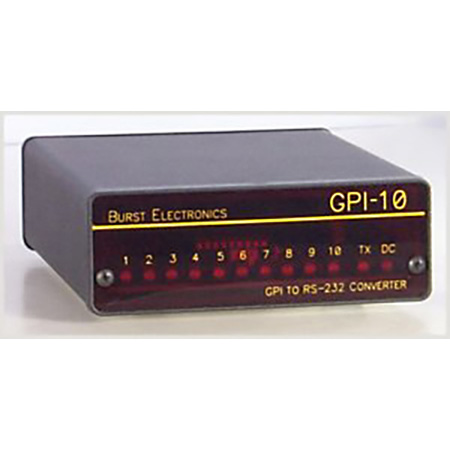 Burst GPI-10K GPI to RS232 Converter with Keypad