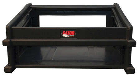 Gator GDJ-8X2 Slant Top Console Rack (8U Top. 2U Bottom)