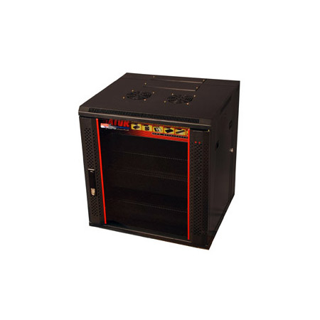Gator GR-WF4B1217TD 12U 17 Inch Deep Rack with Glass Door