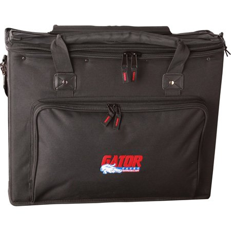 Gator GRB-4U 4-Space Rack Bag w/Black Nylon over Plywood Construction