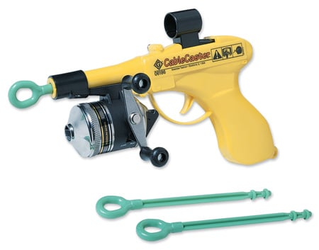 Greenlee 06186 Cable Caster Wire Pulling Tool with Three Darts