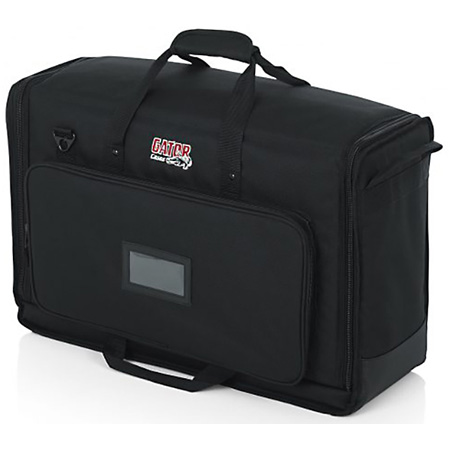 Gator G-LCD-TOTE-SMX2 Padded Nylon Carry Tote Bag for Transporting (2) LCD Screens Between 19 Inch - 24 Inch
