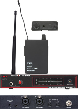 Galaxy Audio AS-900K1 Fixed Frequency Wireless Personal Monitor Freq K1 - 630.2 MHz