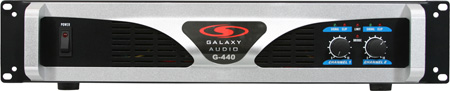 Galaxy Audio G-440 G-Series Stereo 440W Amplifier