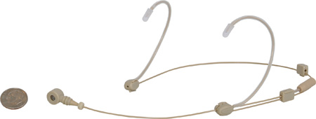 Galaxy Audio HSD Unidirectional Dual-Hook Headset - AT Cable Beige