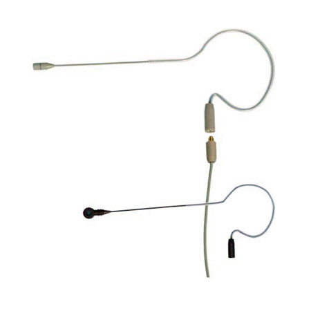 Galaxy Audio HSE Omnidirectional Single-Hook Headset - 2.5mm Cable Beige