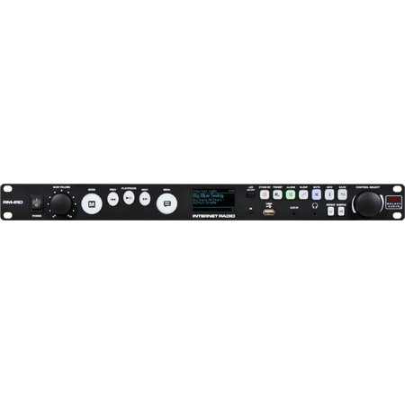 Galaxy RM-IRD Rack Mount Internet Radio Player