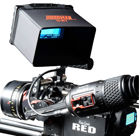 Hoodman H-R7 7 Inch Monitor Hood for Red Camera