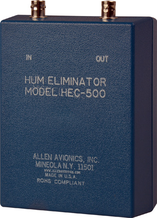 Allen Avionics 50 Ohm Single  Channel Video Hum Eliminator