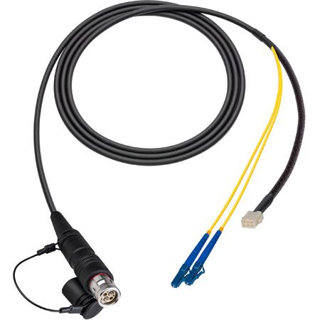 Camplex LEMO FUW to Duplex LC & 6-Pin Amp In-Line Fiber Breakout 6 Foot