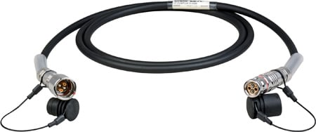 Camplex LEMO FUW-PUW Indoor Studio SMPTE Fiber Camera Cable - 1000 Foot