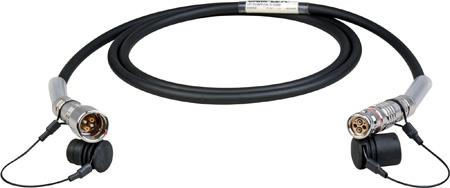 Camplex LEMO FUW-PUW Indoor Studio SMPTE Fiber Camera Cable - 500 Foot