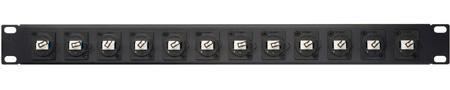 Camplex HF-LC12-DXSM 12-Port LC Duplex Singlemode Feed-Thru Panel