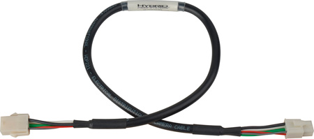 6-Pin AMP Mate-N-Lok Power & Signal Extension Cable for Equip. Breakout - 2 Ft.