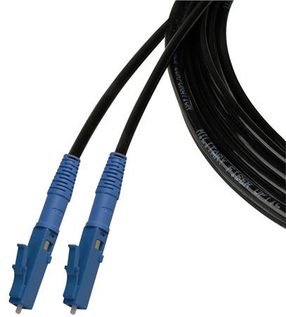 Camplex TAC1 Simplex Singlemode LC Fiber Optic Tactical Cable - 100 Foot