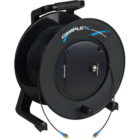 Camplex TAC1 Simplex Singlemode ST Fiber Optic Tactical Cable Reel - 2000 Foot