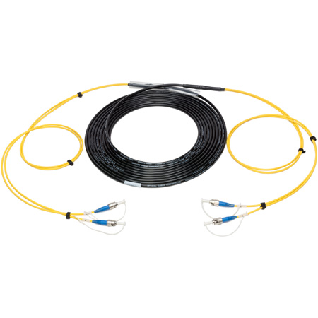Camplex 2-Channel ST-Single Mode Tactical Fiber Optical Snake- 1250 Foot