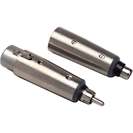 XLR Female  to RCA Phono Jack