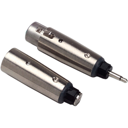 XLR Female to 3.5mm Female Adapter