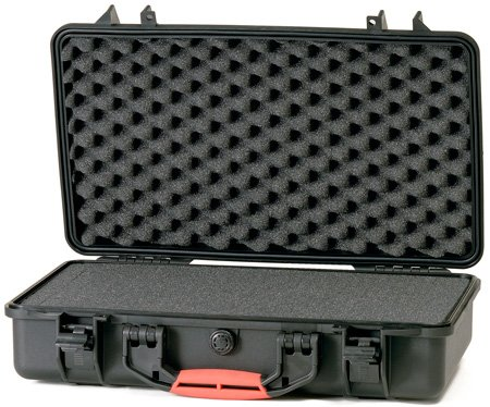 HPRC 2530F 21x13x6 Black Hard Case with Cubed Foam Interior