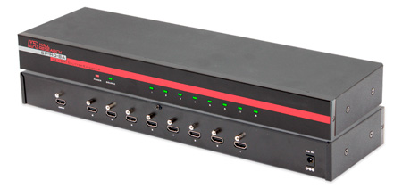 Hall Research SP-HD-8A DVI or HDMI audio-video source on eight identical outputs
