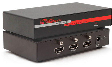 Hall Research SP-HDMI-2A 2-port HDMI Video Splitter-Extender