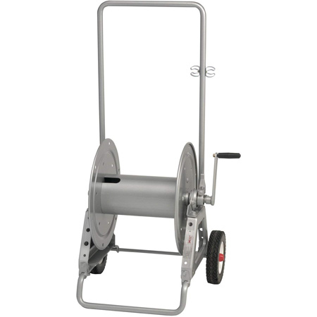 Hannay Portable Cable Reel with Slotted Divider