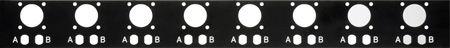 Camplex Optional Rear Plate Punched for Dual ST & AMP Power for HY45 Panels