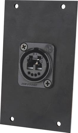 Camplex HYMOD-2R08 OpticalCon Duo LC Feedthru Module for 2RU HYMOD Systems
