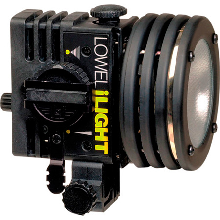 Lowel I-045 i-Light 100 Watt Focusing Flood with Anton Bauer PowerTap Cable
