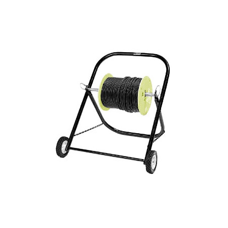 ICM CC2024 20x24 Cable Caddy w/6in Wheels- Black