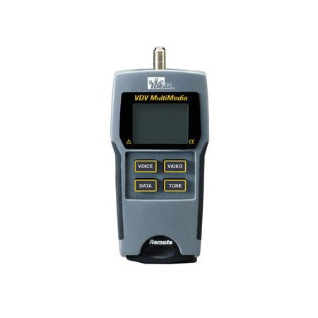 Ideal 33-856 VDV Multimedia Cable Tester Kit