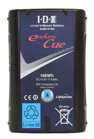 IDX CUE-D150 - 146Wh Li-ion V-Mount Battery