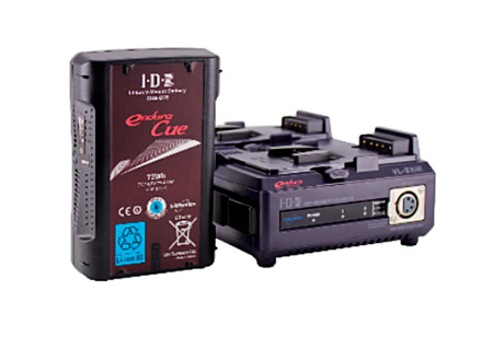 IDX CUE-D75 KIT- Single CUE-D75 Battery & 2-Channel Charger Kit