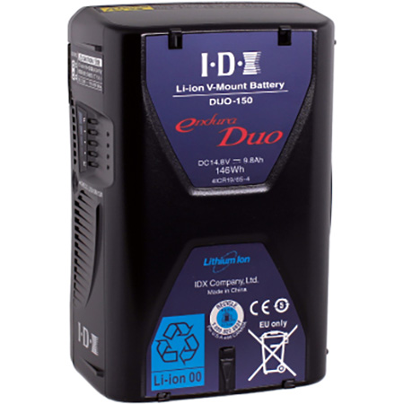 IDX DUO 150 Li-ion V-Mount Battery