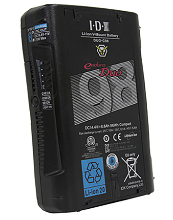 IDX DUO-C98 96Wh High Load Battery with D-Tap and D-Tap Advanced and USB