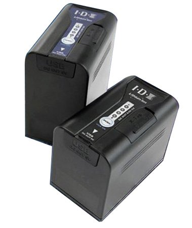 IDX SL-VBD96 7.2V Li-ion Battery for Panasonic Cameras