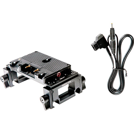 ikan BMPCC-PBK-QR-S Blackmagic Pocket Cinema Camera Quick Release Pro Battery Kit for V-Mount