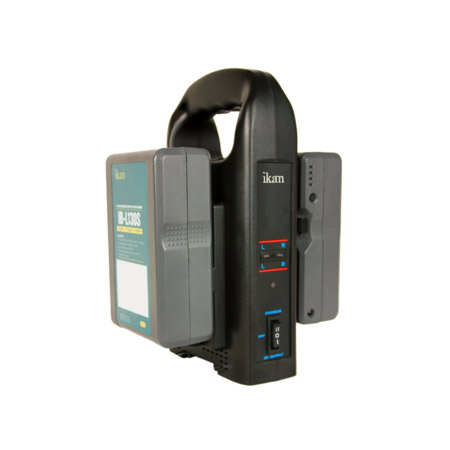 ikan C-2KS-Kit V-mount Compatible Charger & Battery Kit