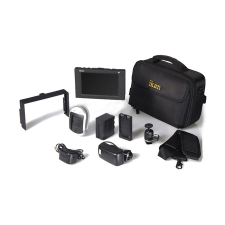 ikan D5-DK-P D5 Field Monitor Deluxe Kit for Panasonic D54 Battery