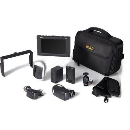 ikan D5w-DK D5w Field Monitor Deluxe Kit for Panasonic D54 Battery