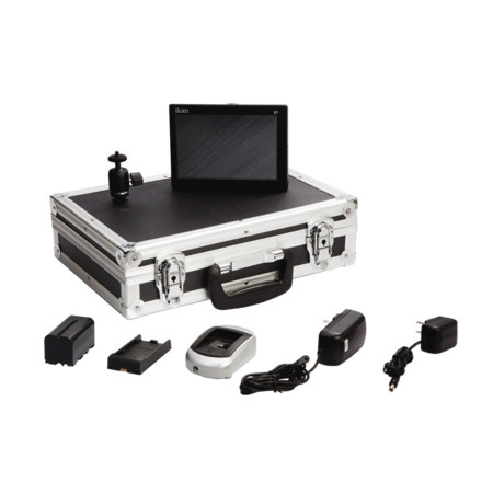 ikan D7-DK-S D7 Field Monitor Deluxe Kit for Sony L Series Battery