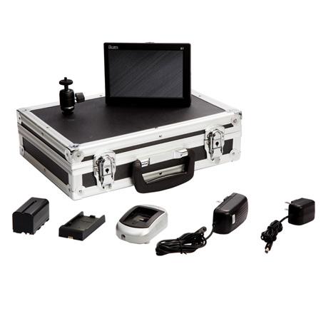 ikan D7w-DK D7w Field Monitor Deluxe Kit for Panasonic D54 Battery
