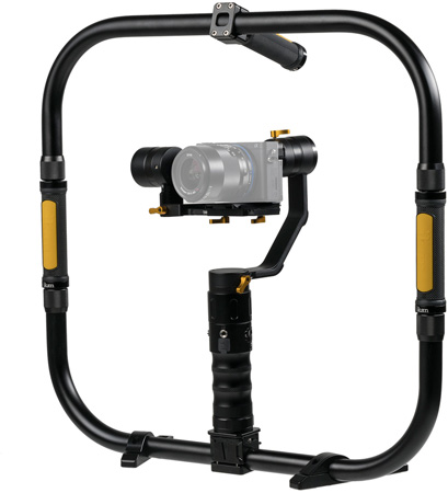 ikan EC1-GRH-KIT Gimbal Ring Kit with Li-Ion Batteries for Mirrorless and DSLR Cameras