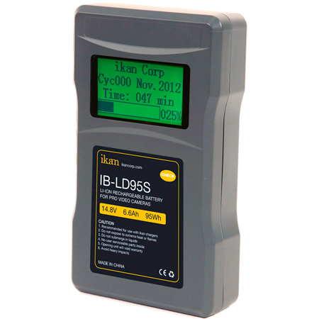 ikan IB-LD95S 6.6Ah/95Wh/14.8V/ With LCD Display