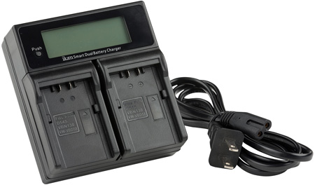 ikan ICH-KDUAL-D54 Dual Charger for Panasonic D54 Style Batteries