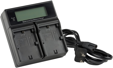 ikan ICH-KDUAL-E6 Dual Charger for Canon E6 Style Batteries